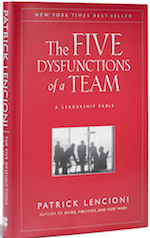 Screenshot of 5 Dysfunctions of a Team book