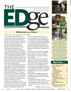 Image of edge newsletter: Winter 2018