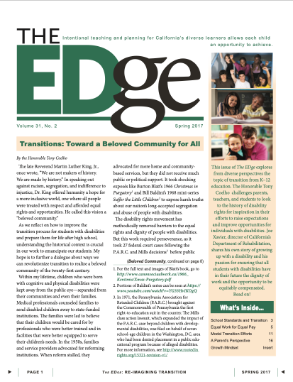 The EDge Newsletter: Spring 2017