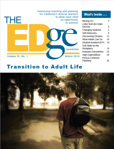 Cover Image of The Edge Newsletter: Winter 2019