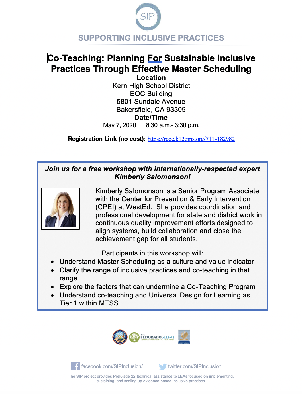 Co-Teaching: Planning For Sustainable Inclusive Practices Through Effective Master Scheduling