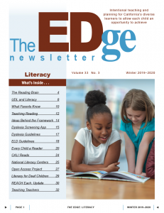 Icon of Edge Newsletter Winter 2019-20