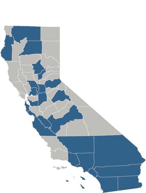 SIP Grantee Map