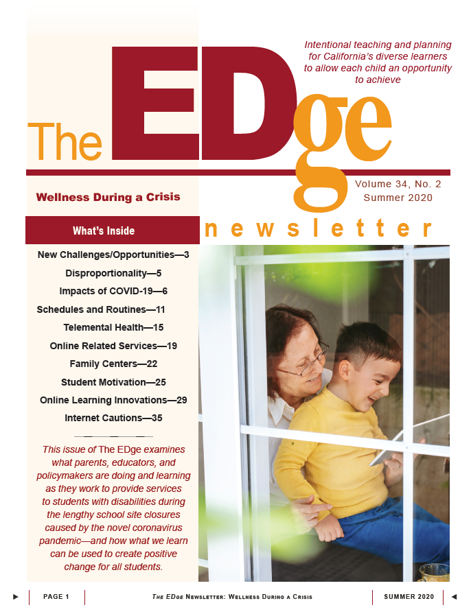 Read more about the article The EDge Newsletter: Summer 2020